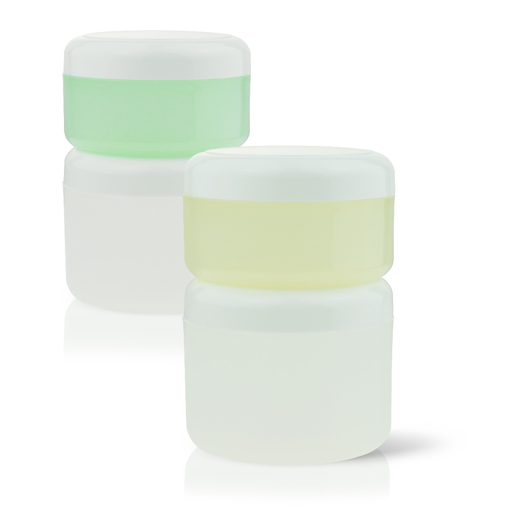 Large Stackable Jars - Enjoy the Colours