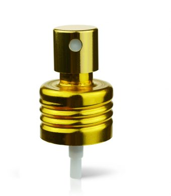 gold-spray-dispensing-pump