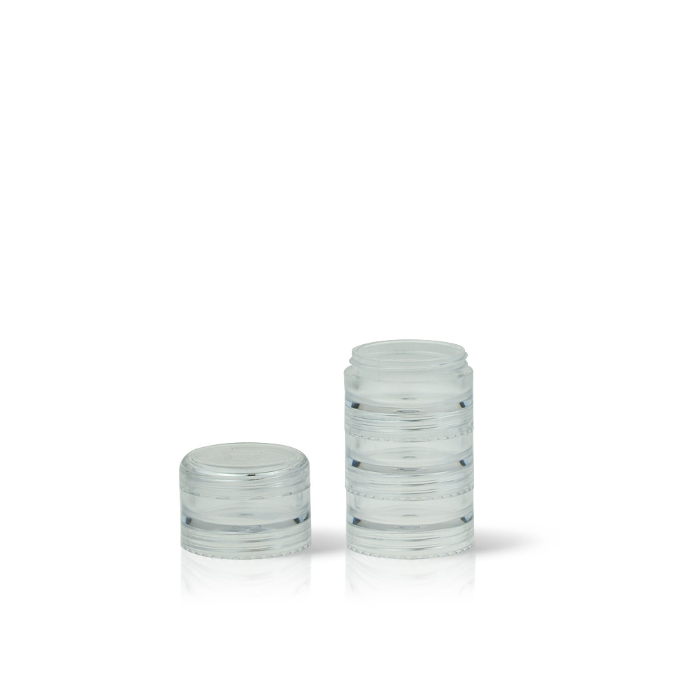 Tiny Stackable Jars for Lips