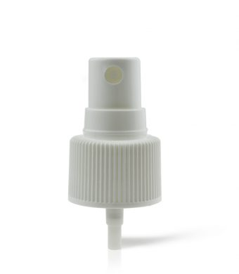 white-ribbed-cosmetic-spray-pump