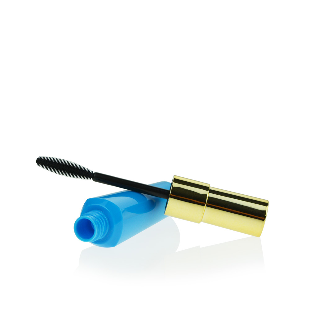 Container Volume Control : Empty mascara container brush wand extra volume control