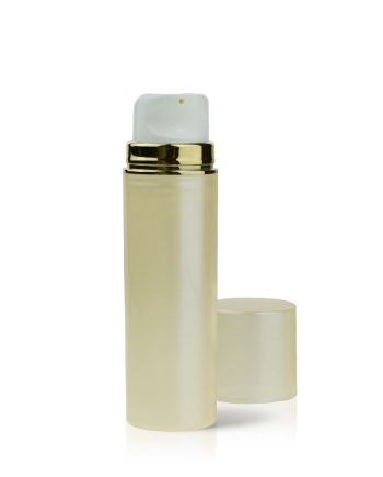 airless-bottle-pump-gold
