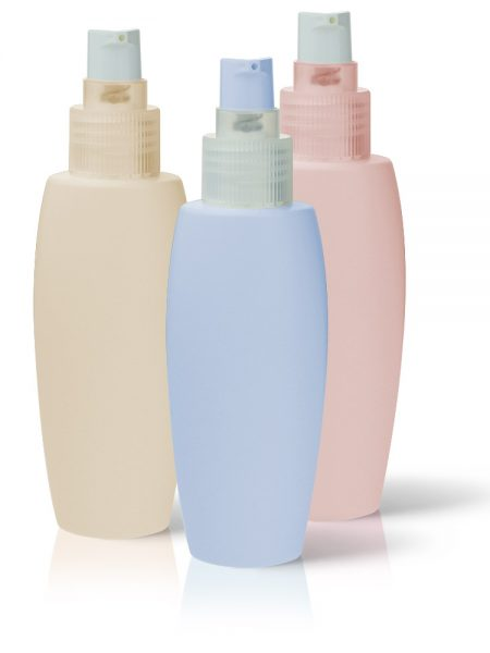 HDPE-bottle-with-transparent-cream-pump