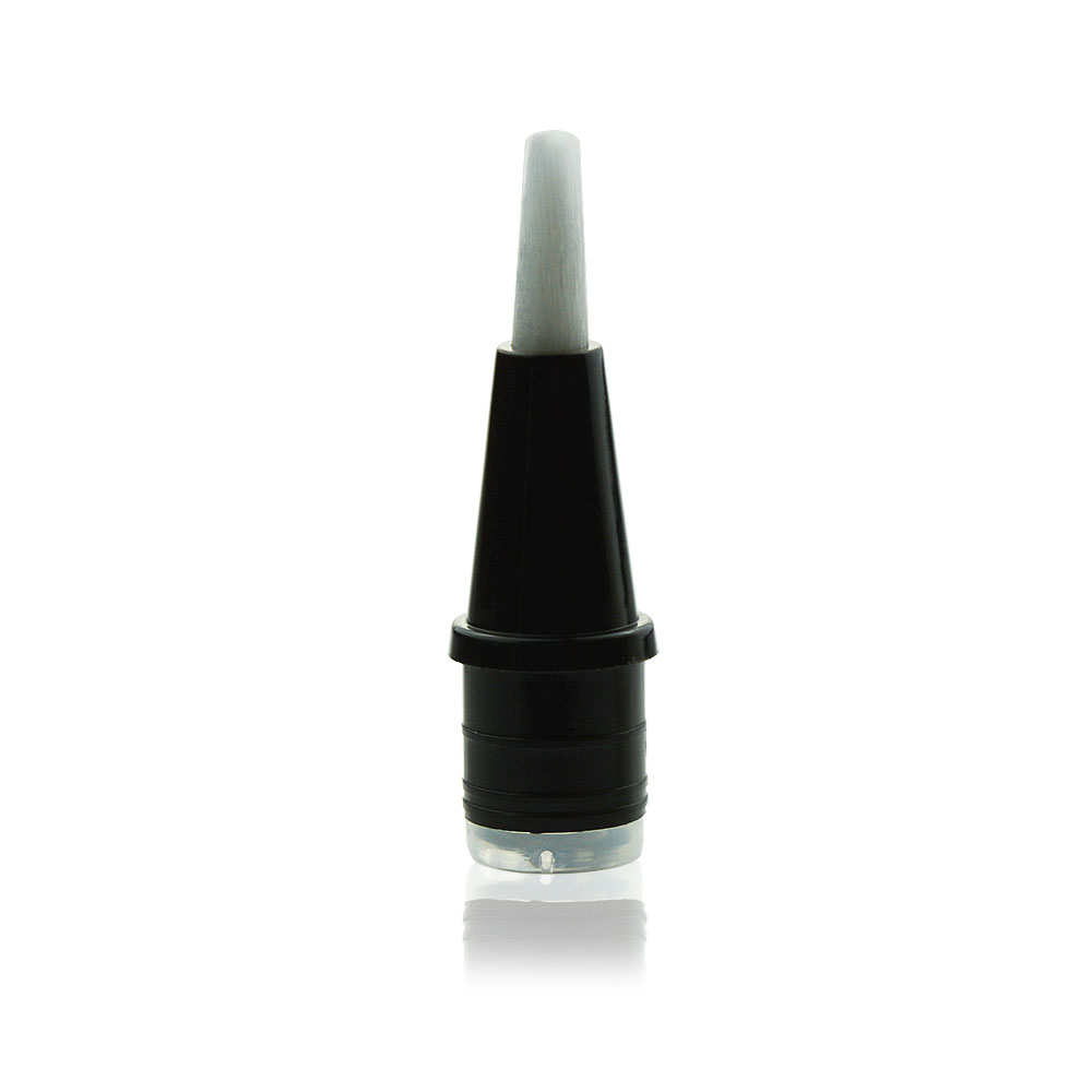 Cosmetic pen brush insert