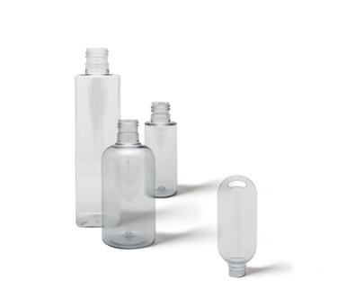 Stock PET & Clear Bottles