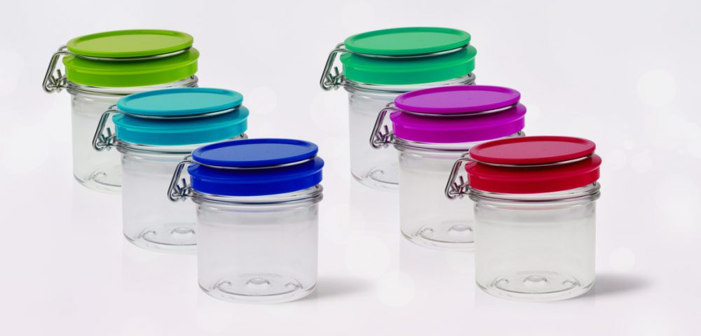 colour kilner jars