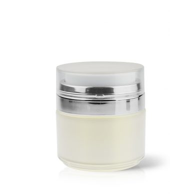 Airless Acrylic Jar - Double Wall Round 50ml AJ-18-14-50