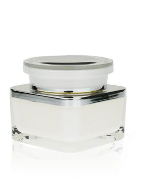 Acrylic Jar - Double Wall Square 50ml AJ-34-14-50