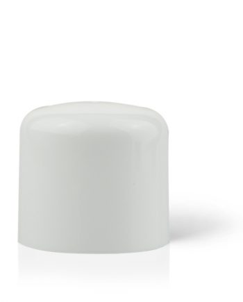 Domed Double Walled Cap White