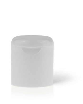 Tall Radiused Flip-Top Cap 20-415 White