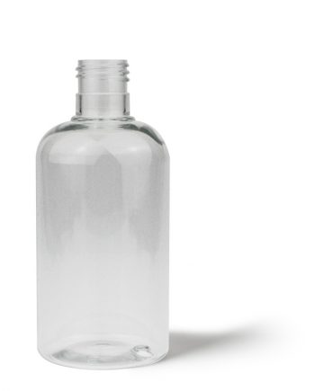 Flat Base Boston Round Bottle 250ml