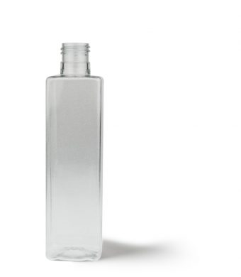Tall Square Bottle 250ml