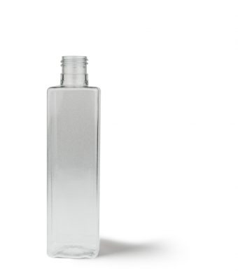 Tall Square Bottle 200ml