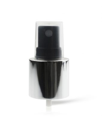 Spray Pump - Ribbed - 24/415 - Black/Silver